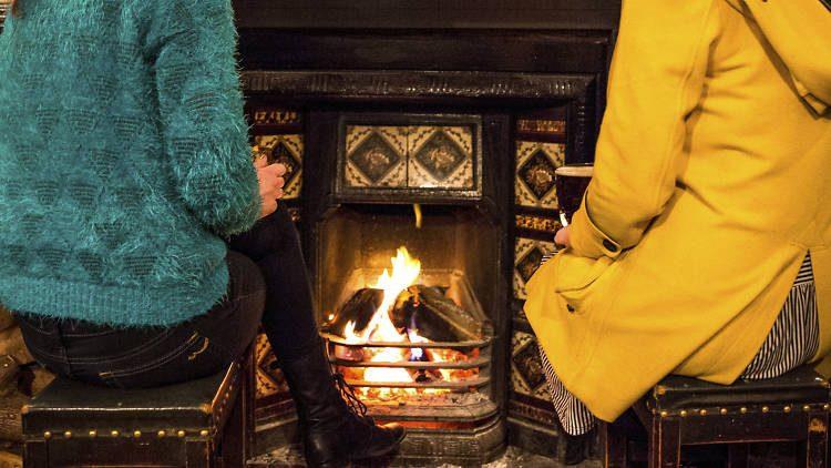 Seven Pubs with Roaring Fires in Westport