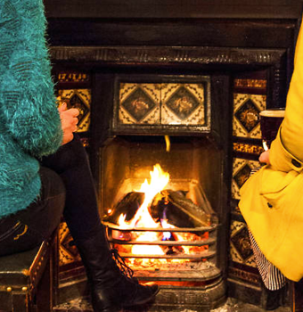 Seven Pubs with Roaring Fires in Westport