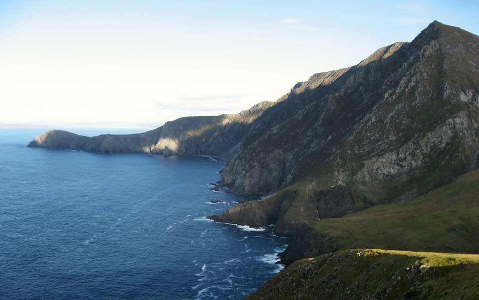 The Achill landscape, plants and animals