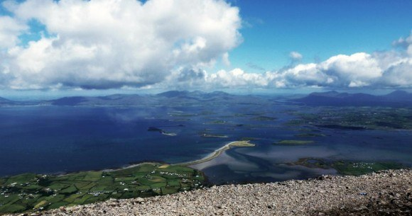 Clew Bay and the islands